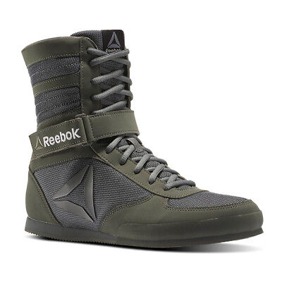 Reebok Mens Green Training Boxing Sports Shoes Boots