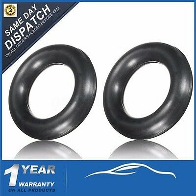 Pair UNIVERSAL EXHAUST RING RUBBER HANGER MOUNTING SUPPORT 60MM OUTER 35MM INNER