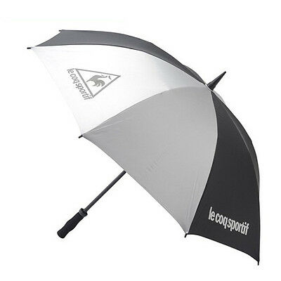 Le coq Sportif QQ6011 Umbrella 65cm all weather model Sliver From Japan