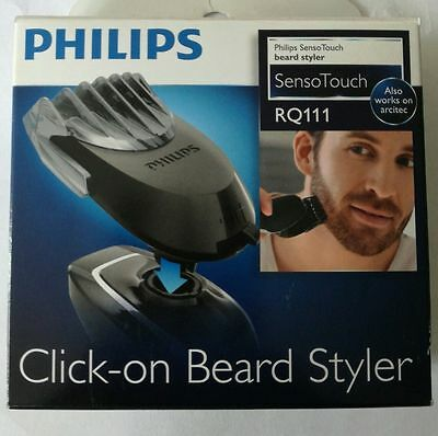 Philips RQ111/50 SensoTouch Click On Beard Styler Attachment Fits RQ10 RQ11 RQ12