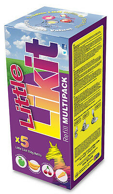 Little LIKIT x5 asst flavor multipack.Use in Tongue Twister or Boredom Breaker.