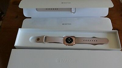 apple watch 38mm strap rose gold