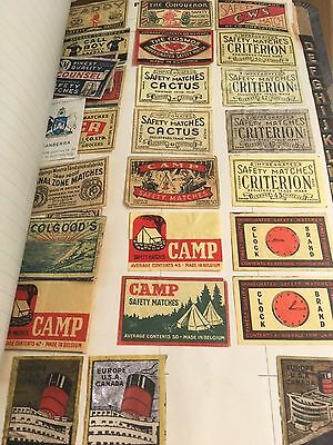 Rare Match Box Covers - Lovely Album- Over 200