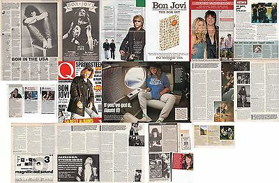 BON JOVI : CUTTINGS COLLECTION -interviews-