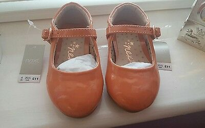brand new next infant girls shoes size 4