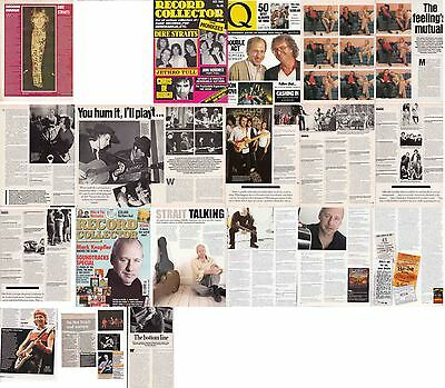 DIRE STRAITS : CUTTINGS COLLECTION -interviews-