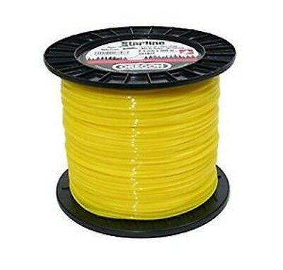 Oregon 90162E Yellow Round Line 2.4mm x 360m Strimmer, Trimmer, Brushcutter Line