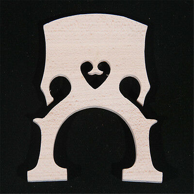 15pcs High quality maple wood cello bridges 1/2 laser preci