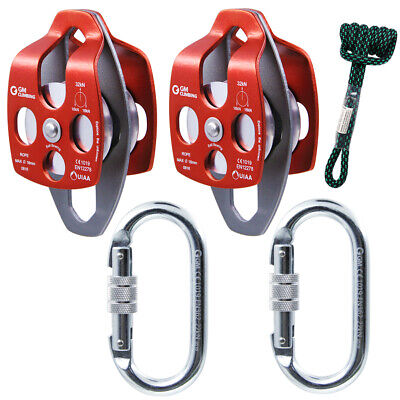 5:1 Block and Tackle Hardware Rescue Hauling Dragging System Rigging Climbing