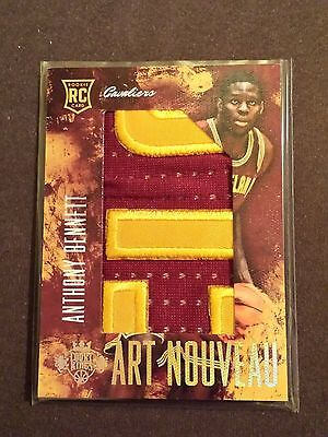 ANTHONY BENNETT 2013-14 Panini Court King Rookie jersey Patch 2/10