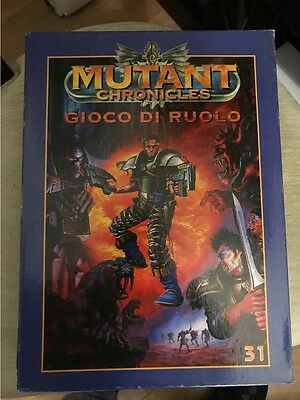 Mutant Chronicles (Hobby and Work) - Prima edizione - Boxed - Perfetto