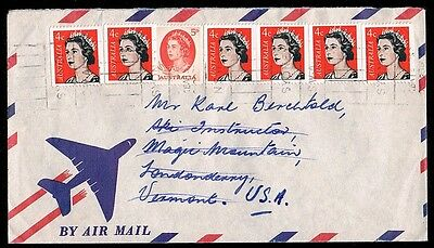 1960's • Airmail Cover to USA • Mixed Franking