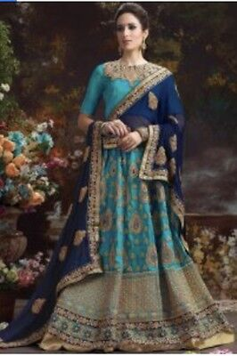 Women's Lengha Blue/Navy