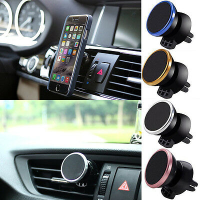For Mobile Cell Phone GPS Universal Magnetic Car Air Vent Holder Stand Mount Hot