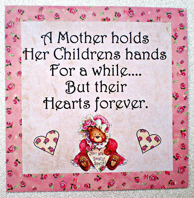 Pretty Mother Magnet - Great Gift Idea  - Handmade