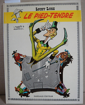 BD Lucky Luke Le Pied Tendre Ancienne Edition