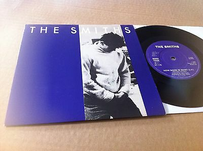 """The Smiths - How Soon Is Now? UK 7"""" Solid Centre Morrissey"""