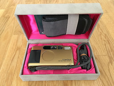 Contax T2 Gold Edition