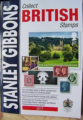 Stanley Gibbons Collect British Stamps 68th Edn 2017