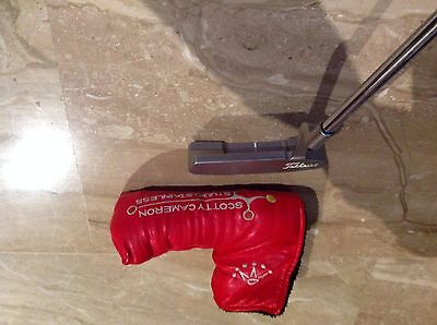 "Putt Scotty Cameron Newport Studio  34"" Super Stroke 1.0+Grip Original/Diestro"