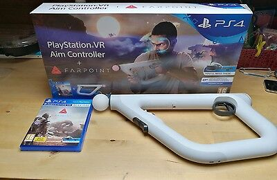 PS4 VR Farpoint Game with Aim Controller psvr