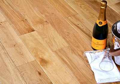 Victoria Engineered Natural Oak 125mm x 18/5mm Oiled Wood Flooring