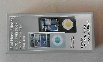 iPod Nano Silicone Case Twin Pack