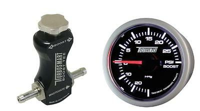 Turbosmart 52mm Boost Gauge PSI and Black Manual Boost Controller