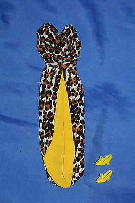 vintage Barbie Leisure Leopard 1970