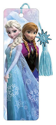 Frozen Anna and Elsa Premier Bookmark Disney Great Cute Gift for Kids and Fans