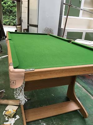 Pop out pool table