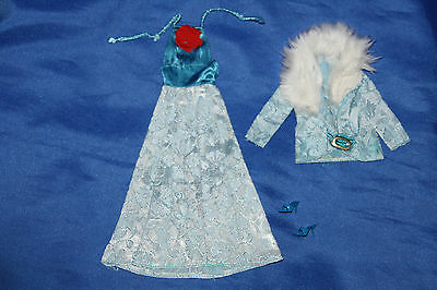 vintage Barbie Party Dress 1974