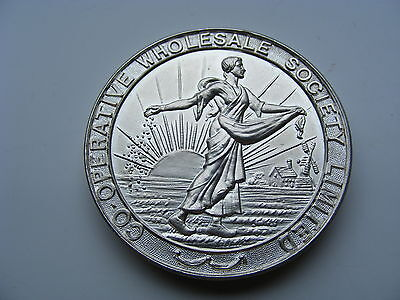 Co-op Bread & Confectionery Competition HM Silver 87g  Medal 1934 Killamarsh