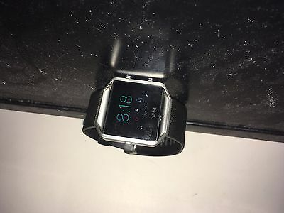 Used Fitbit Blaze, no scratches or cracks