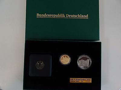 100 Euro Deutschland 2009 Trier Gold Limited Edition