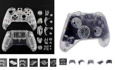Coque Transparent + Boutons + Outils Pour Manette Xbox One