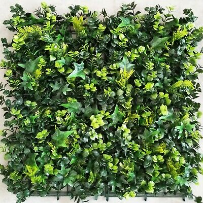 Office Wall Garden Artificial Plants Interlocking per Tile 50cm x50cm Pool Deck