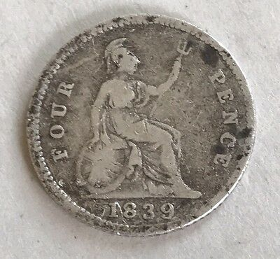 1839 Fourpence Victoria