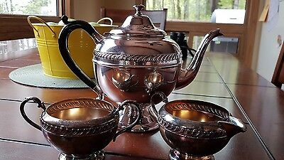 Ep Copper tea set