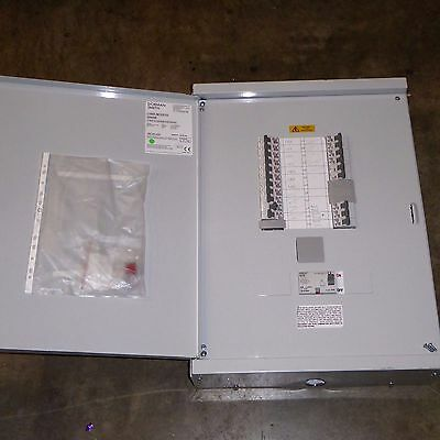 24 way distribution board with RCBO, 4 pole 63A RCD and SP TP MCB Dorman Smith