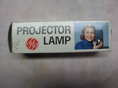 VINTAGE NEW GE CZX/DAB 115-120V 500 watt PROJECTOR LAMP IN ORIGINAL BOX