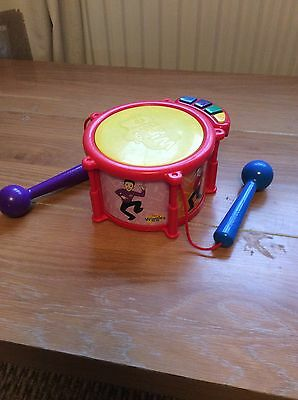 The Wiggles ~ Musical Toy Drum ~ In Great Condition