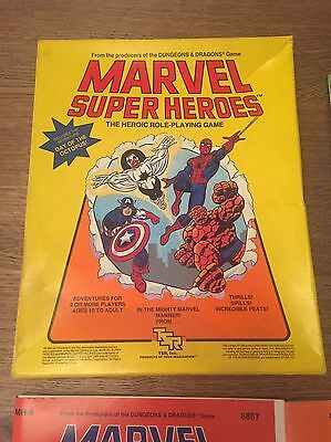 Marvel Super Heroes Role Playing Game RPG TSR 1984 Inc Day of the Octopus