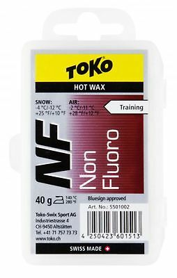 Toko Non Fluorinated Wax Red (40gm) Mens Unisex  New