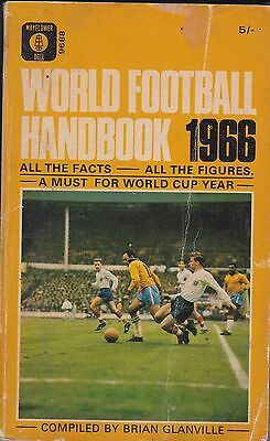World Football Handbook 1966 ~ By Brian Glanville ~ Special World Cup Edition