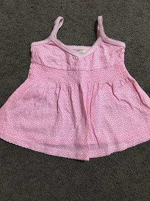 Baby Girls Short Sleeved Cotton On Top Size 000-00