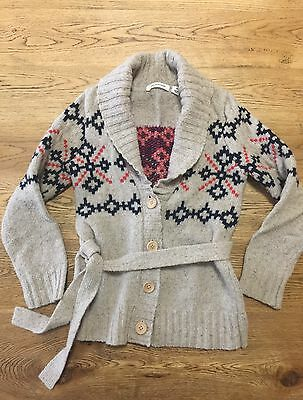 Country Road •  Knit Cardigan • Good Condition • Size 6 • Girls •