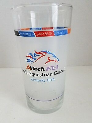 World Equestrian Games Lexington Kentucky KY 2010 Glass Alltech FEI Mint Julip