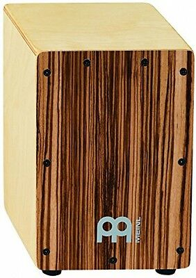 Drum Box Percussion Mini Cajon Birch Bubinga Front Body Panel Gift