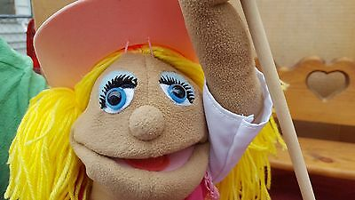 Melissa And Doug Country Singer-Cow Girl Hand Puppet With Stick